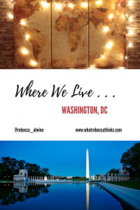 Where we live washington dc