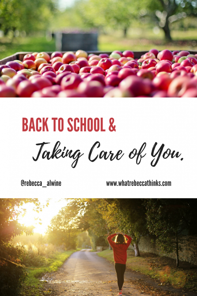 Meal Planning for back to school