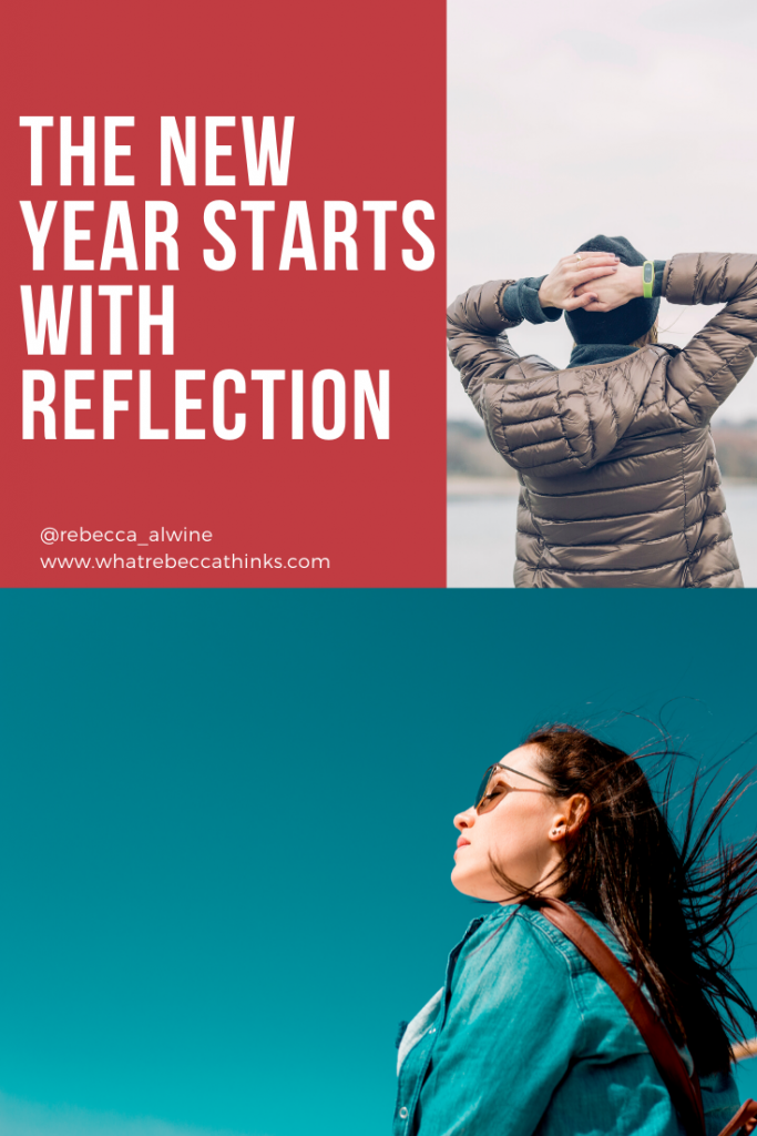 the new year starts with reflection